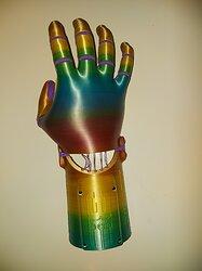 strung hand back
